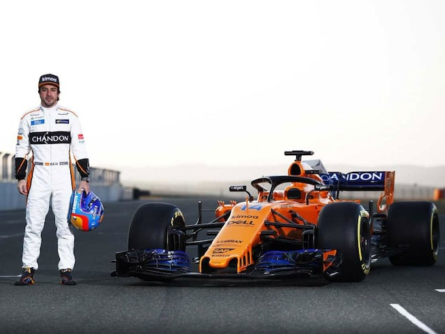 Fernando Alonso Excited As McLaren Unveil New F1 Car