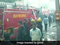 Fire Erupts At Shoe Factory In Delhi's Peera Garhi