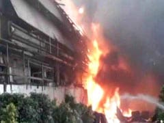 Fire At Chemical Unit In Hyderabad's Jeedimetla Area, 8 Injured