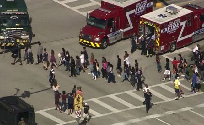 Florida School Shooting Updates: Scared Students Hid In Classrooms As Ex-Student Opened Fire