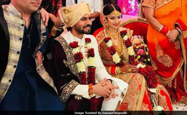 Bigg Boss 10's Gaurav Chopra Gets Married To Hitisha. See Pic