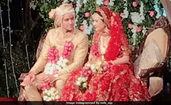 Gautam Rode and Pankhuri Awasthy get married; here are the pics