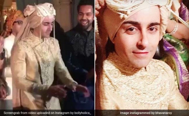 अपनी बारात पर जमकर नाचे गौतम रोडे, देखें टीवी के 'सूर्यपुत्र कर्ण' की Wedding Photos