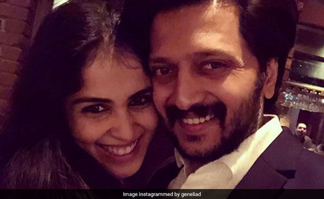 Trending: Genelia D'Souza's Aww-Dorable Post For Riteish Deshmukh
