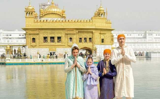 When Justin Trudeau Played Dress-up with Indian Attires
