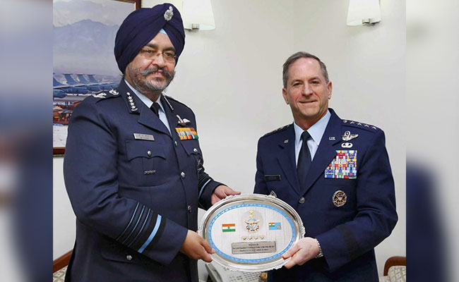 India A 'Central Strategic Partner' In Indo-Pacific, Says US Air Force Chief