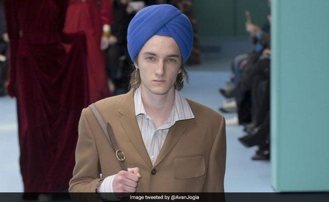 c4301c60187 Gucci Slammed For Using Sikh Turbans As Fashion Accessories