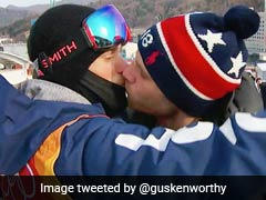 Televised Gay Kiss Lights Up Winter Olympics