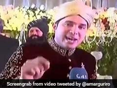 Pakistani Journalist Covers Own Wedding, Interviews Wife. Twitter LOLs