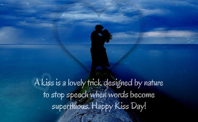 happy kiss day image