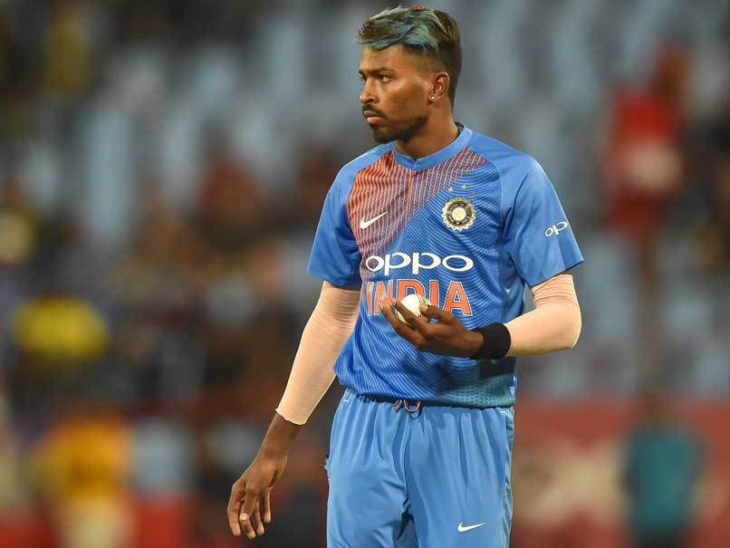Hardik Pandya, Dinesh Karthik To Be Part Of World XI vsThe West Indies
