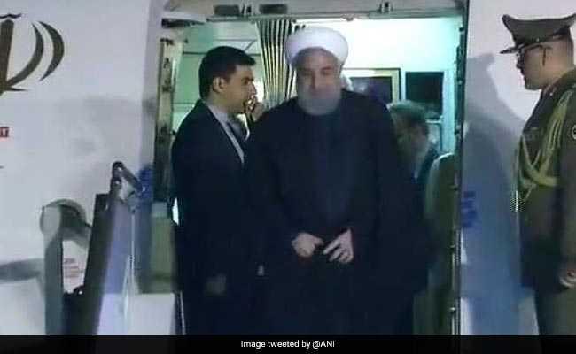 Hassan Rouhani India Visit LIVE Updates: Iran President Lands In Delhi