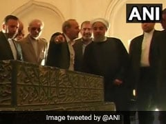 Hassan Rouhani India Visit LIVE Updates: Iran President Lands In Delhi