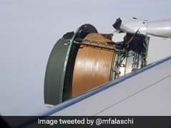 """""""Scariest Flight Of My Life"""": Plane's Engine Covering Ripped Apart"""