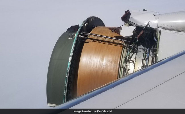 'Scariest Flight Of My Life': Plane's Engine Covering Ripped Apart