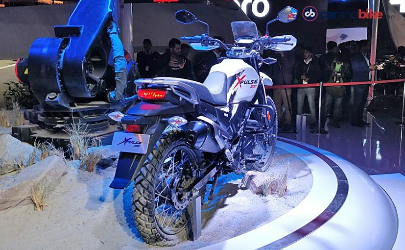 hero xpulse 200 adventure tourer auto expo 2018