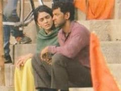 Hrithik Roshan's <i>Super 30</i>: Actress Mrunal Thakur Spotted On Set. See Pics