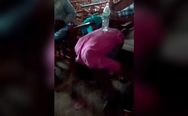 Woman Attempts Suicide After BJP Leader Humiliates Father In Viral Video
