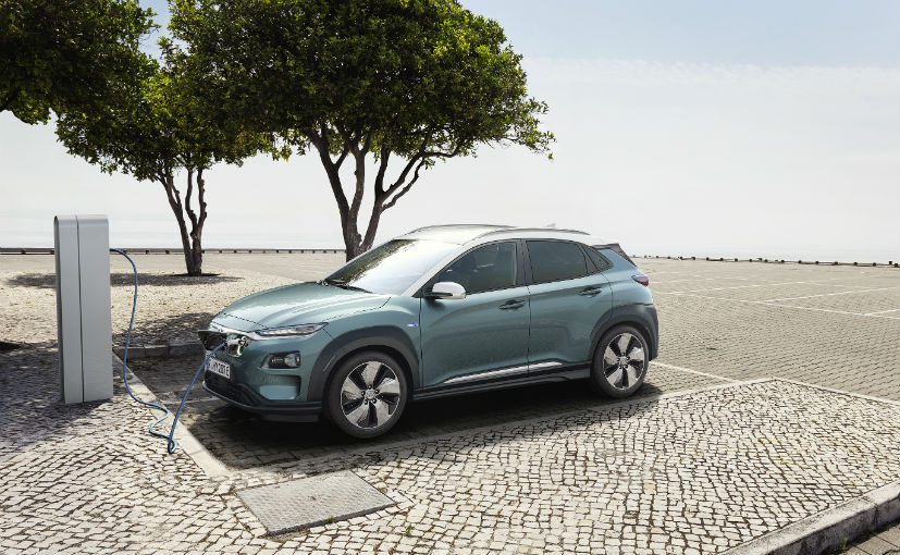 Hyundai unveils Kona Electric SUV in Europe