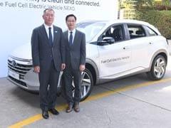 Hyundai NEXO Fuel Cell EV Showcased At India-Korea Business Summit