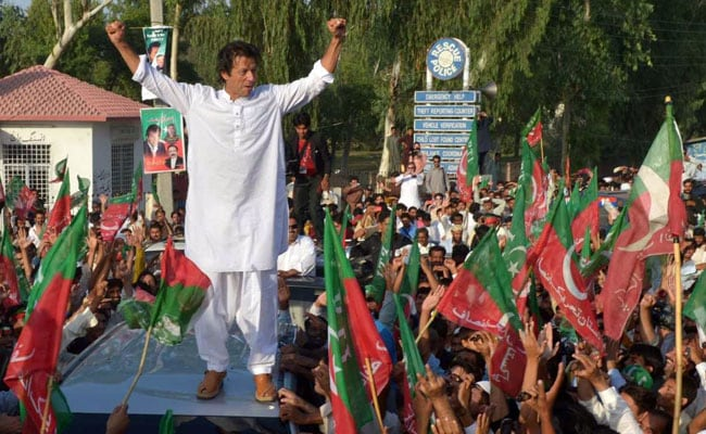 Shoe Thrown At Imran Khan During Rally In Pakistan