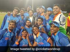 Under-19 World Cup: From Sachin To Sehwag, Wishes Pour In For Victorious India Colts
