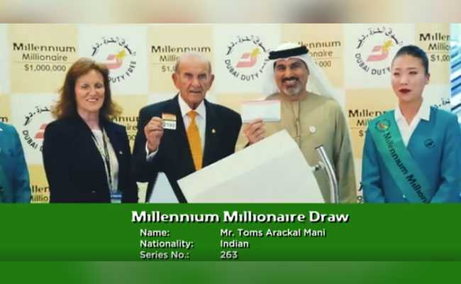 38-Year-Old Man From Bangalore Wins $1 Million At Dubai Duty Free Raffle