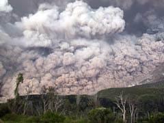 Indonesia's Mount Sinabung Spews Massive Smoke-And-Ash Column