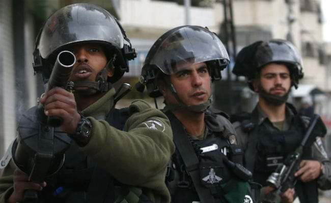 Israel Strikes Gaza After Blast Wounds 4 Soldiers