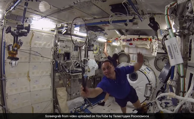 Astronauts Compete In First Ever Space Badminton Contest. Everyone Was A Winner