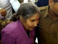 PM Modi's Wife Jashodaben Has Narrow Escape As Her Car Hits Truck In Rajasthan