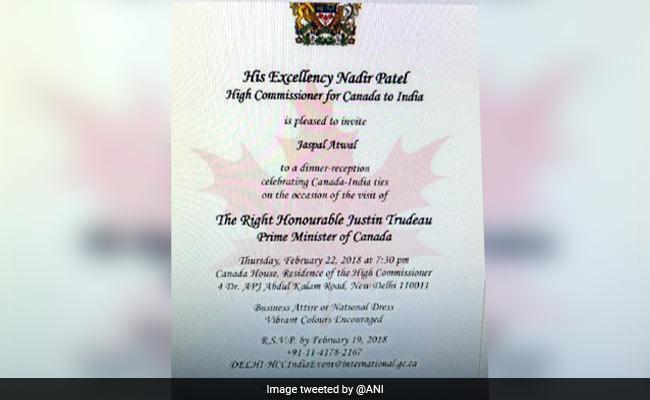jaspal atwal invite