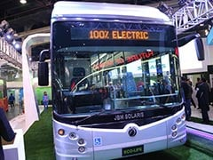 Auto Expo 2018: JBM, Solaris Launches Eco-Life Electric Bus; Prices Start At Rs. 2 Crore