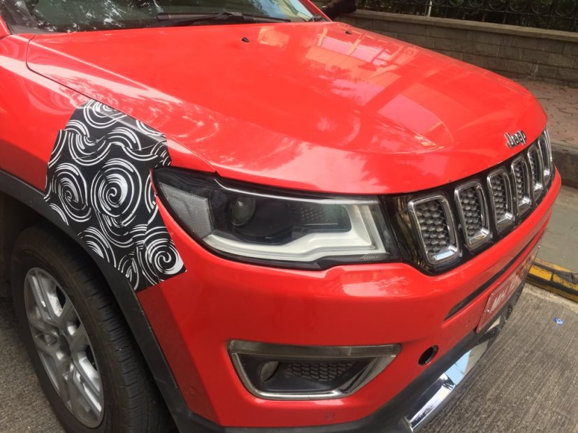 The Jeep Compass Trailhawk will be the top-end variant of the SUV with more off-road oriented features