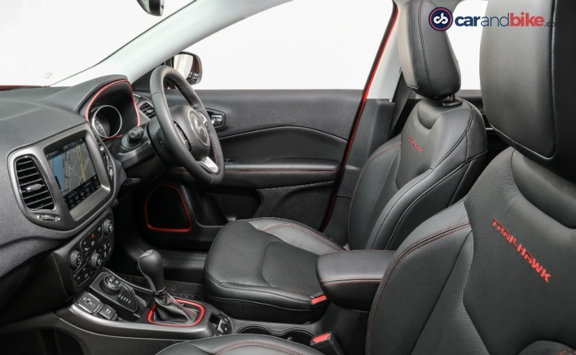 jeep compass trailhawk seats and interior