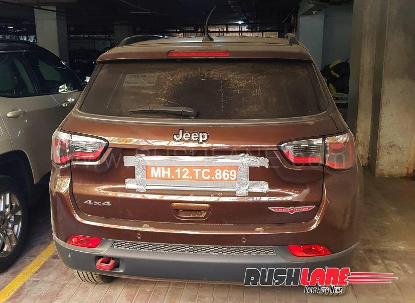 jeep compass trailhawk spied rear