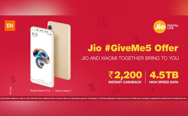 jios offer on redmi phone