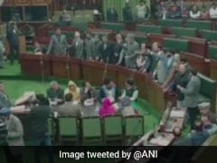 """National Conference """"Disowns"""" Leader's Pro-Pak Slogans In Jammu And Kashmir Assembly"""