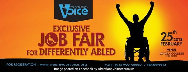 job fair for differently abled