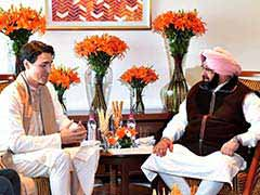 In Meeting With Justin Trudeau, Amarinder Singh Raises