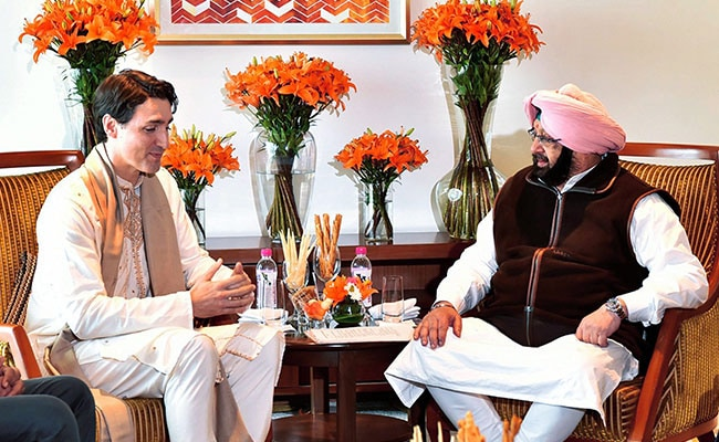 Amarinder Singh Seeks Action Against 9 'Radicals' In Meeting With Trudeau