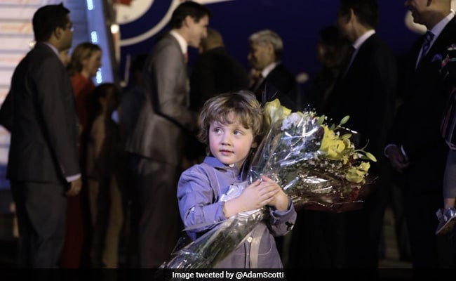 Not Taimur, Justin Trudeau's Son Hadrien Is Now Internet's Favourite