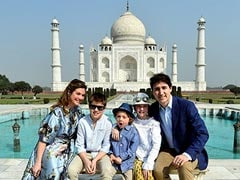 Justin Trudeau Starts India Visit With A Trip To Taj Mahal: 10 Updates