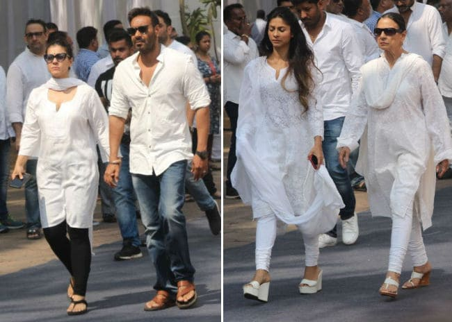 kajol ajay devgn tanishaa and tanuja ndtv