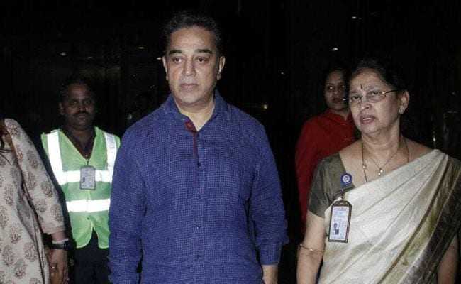 Sridevi's Sadma Co-Star Kamal Haasan Pictured At Anil Kapoor's House