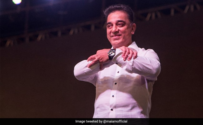 In Black And White, Kamal Haasan's Party Flag Defines His Views