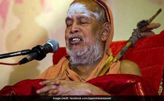 विजयेंद्र सरस्वती बने कांची मठ के प्रमुख, पीठाधिपति का कार्यभार संभाला
