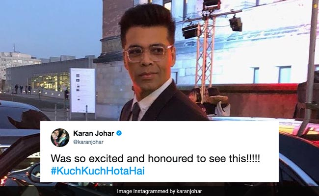 Watch German Orchestra Plays Kuch Kuch Hota Hai For Karan Johar