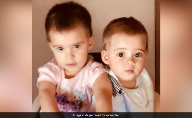 Karan Johar's Twins Roohi And Yash's First Birthday Pic Is A Gift For All Of Us