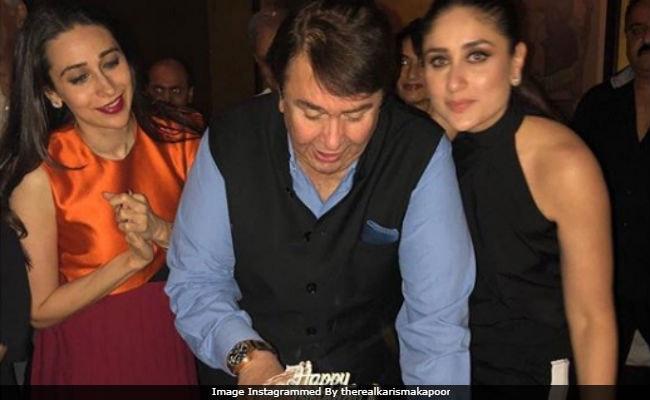 Kareena And Karisma Celebrate Dad Randhir's Birthday With Kapoor Famjam